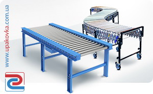 Transporters, conveyors, roller conveyors