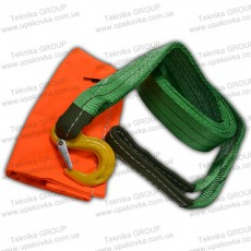 Towing strap TS: hook -loop